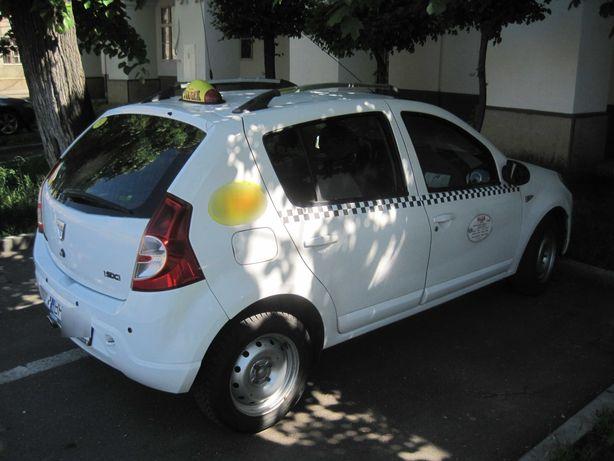Autorizație Taxi Oradea, PFA, cu Dacia Sandero 1,5 dci, 2011
