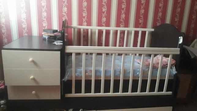 Детский кровать 3положение