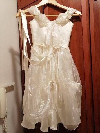 Шаферска рокля С ОБРЪЧ за момиченце на 3-5 г. и половина