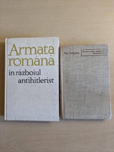 Armata română în războiul antihitlerist + bonus
