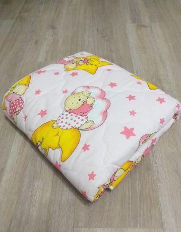 НОВА! Бебешка олекотена завивка, плат - 100% памук, размер 100/150 см!