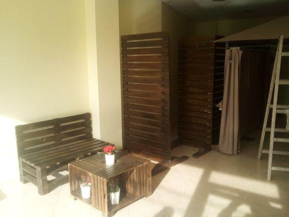 Параван, декоративна дървена преграда
