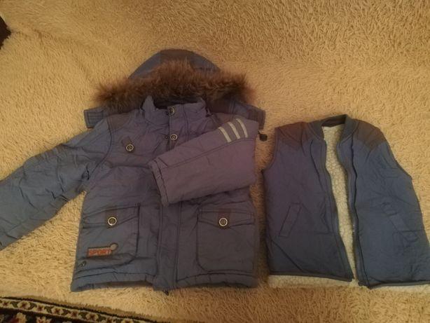 Куртки на 4 и 9лет