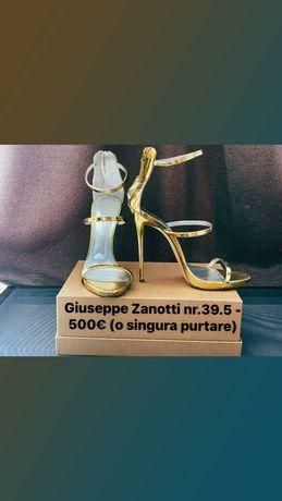 Originali Giuseppe Zanotti.Burberry