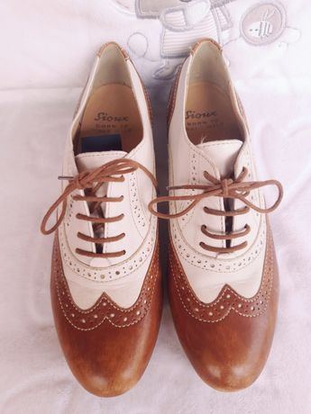 Pantofi piele oxford 37