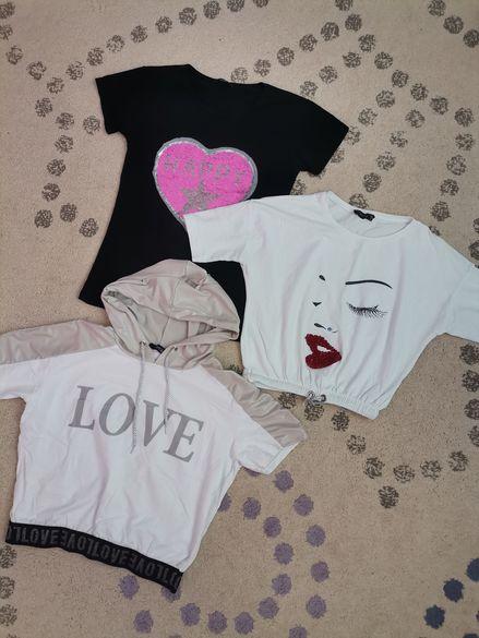 3 Дамски тениски С/М размер