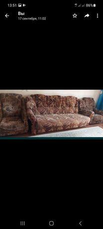 Срочно диван и кресло