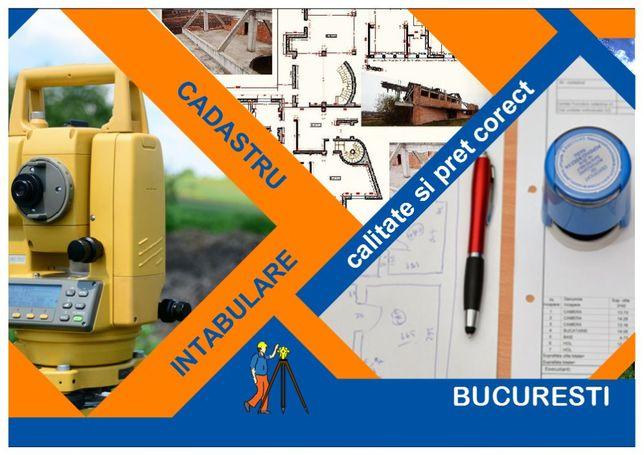 Cadastru și intabulare garsoniere, apartamente in Bucuresti