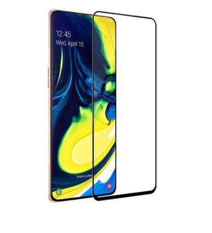 Folie Sticla Securizata Samsung A71, Full Glue, 9H
