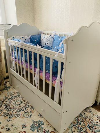 Детский кроват Купили с нулЯ