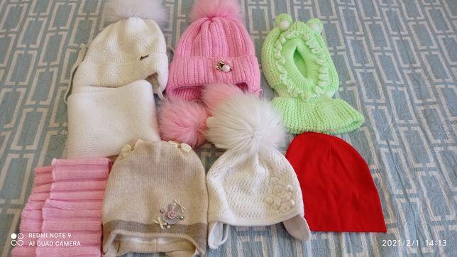 Детские зимние шапочки