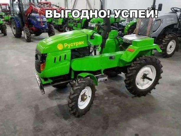 Шемонаиха! Трактор Рустрак Р-18. АКЦИЯ! В подарок Почвофреза и Плуг