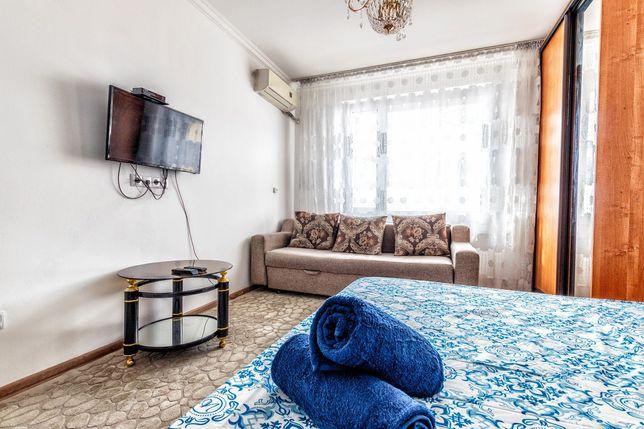 Посуточно 1 комнатная квартира ЖК Сармат