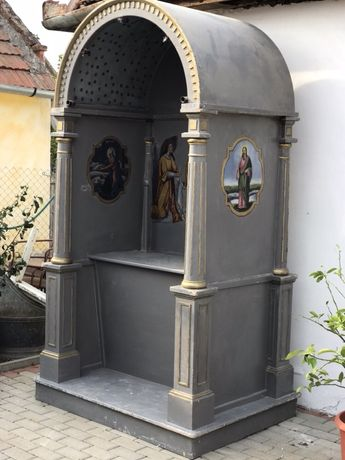 Altar de icoana .Brad.