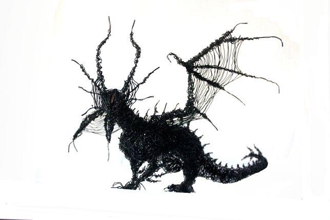 Витая Скульптура Дракона