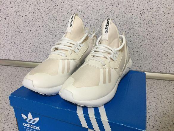 НОВО *** Оригинални Adidas Originals Tubular Runner White Cream
