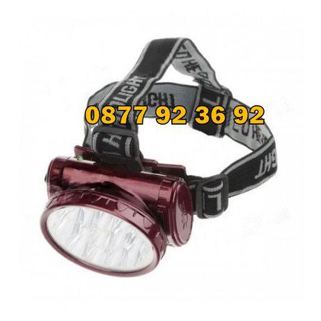 LED ЧЕЛНИК, фенер за глава, прожектор, осветление за глава