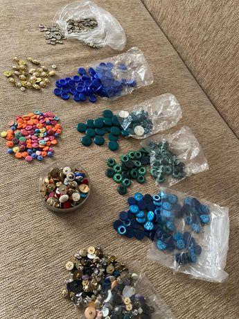 Nasturi diferite marimi ,culori si modele! 0.50 lei buc!