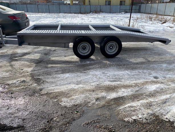Продам прицеп Новый Лафет автовоз с Европы Germany находятся в Алматы