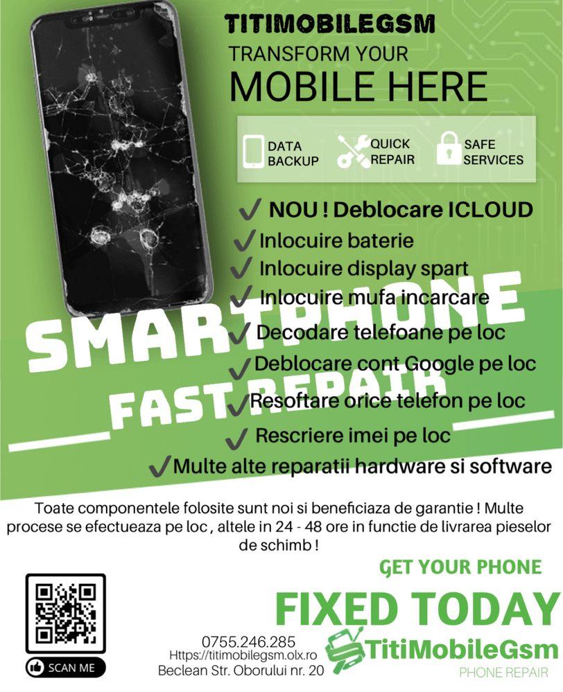 Service telefoane , iphone , samsung , huawei • TitiMobileGsm