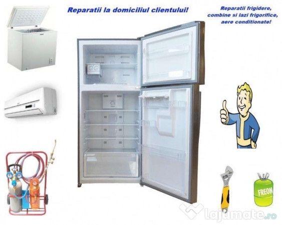Reparații frigidere și mașini de spălat la domiciliu clientului