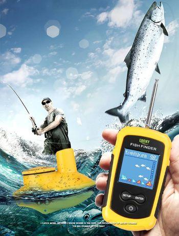 НОВО Сонар за риболов БЕЗЖИЧЕН лодка захранка намиране на риба