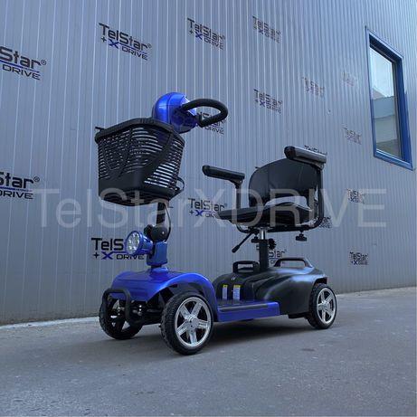 НОВО Електрическа четириколка за трудноподвижни хора TS-180F 250