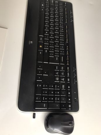 Kit Logitech wireless tastatura K520 si mouse M325