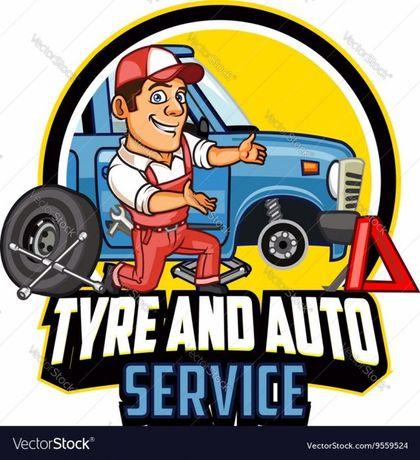 "Авто сервиз за гуми ""GUMATA"" лекотоварни тежкотоварни селскостопански"