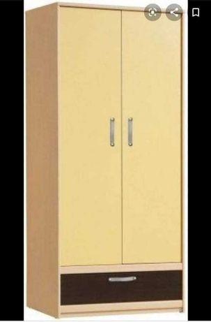 Двукрилен гардероб
