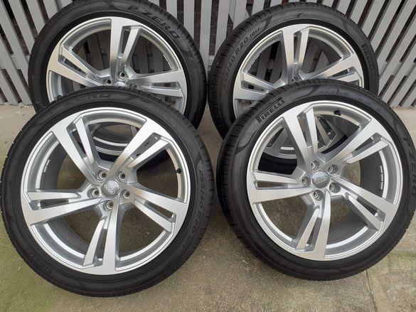 Оригинални джанти с гуми летни 20 цола за Audi A6 A7