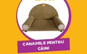 Canapea personalizata pentru catei Pedigree