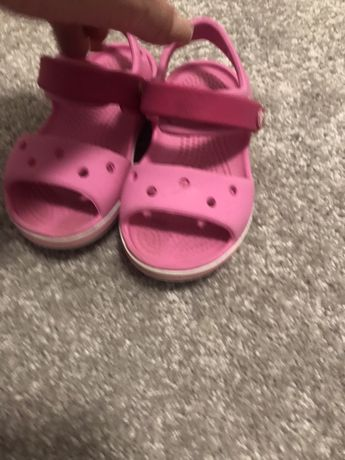 Sandale Crocs - fetita, C7 / 23-24