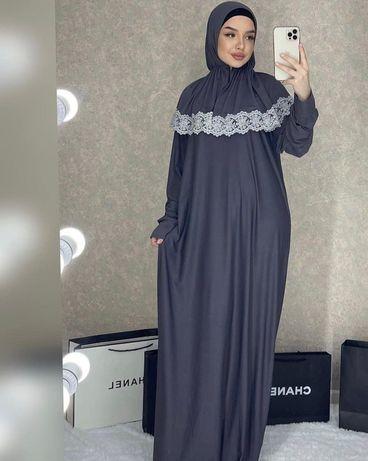 Мусульманское платье с платком
