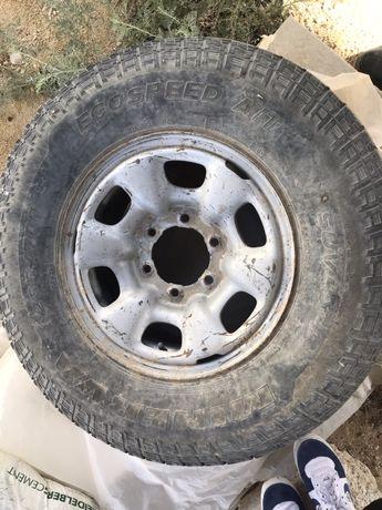 Запаска колесо от пикапа Тайота Хайлюкс 2014 г/в