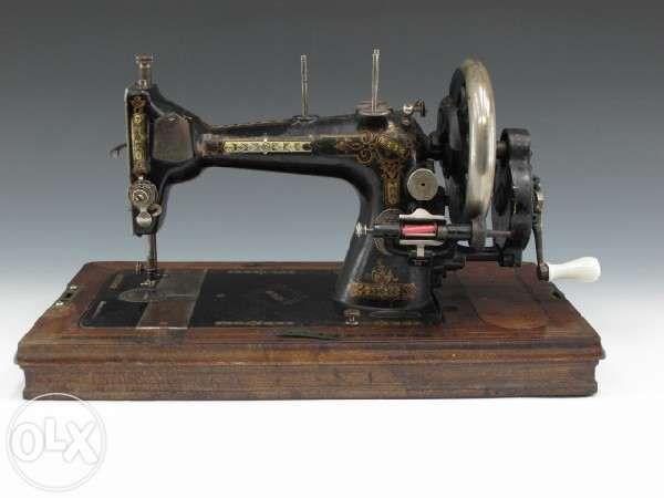 Masina de cusut de colectie Winselmann