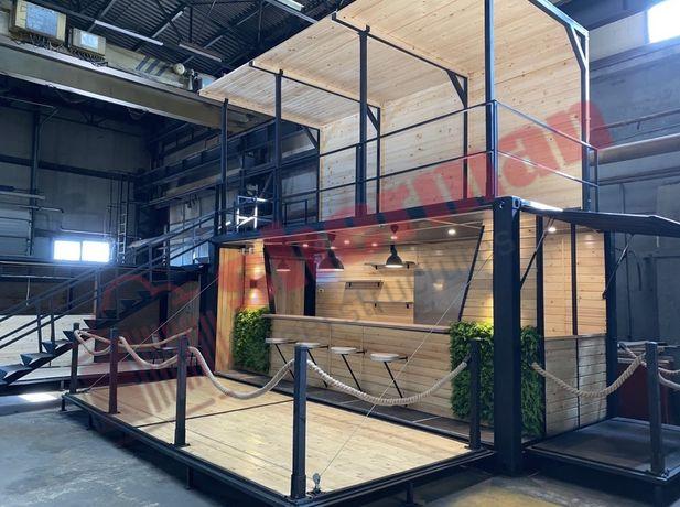 Container bar / cafe / coffee shop / restaurant / beach bar