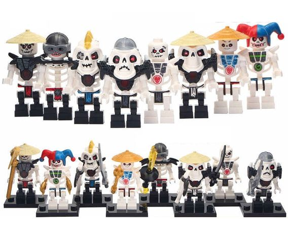 Minifigurine tip Lego Ninjago: Samukai si Armata lui de Scheleti