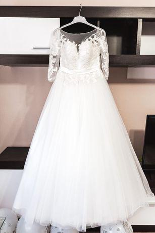 Rochie mireasa M, corset reglabil