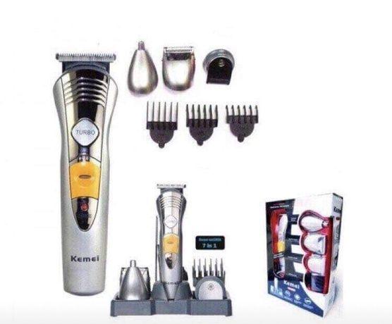 7в1 Професионална машинка за подстригване,безжична,тример,KM-580А
