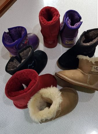 Обувь сапоги детские зимние