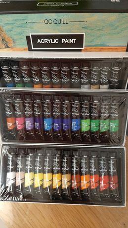 Acuarele 36 de culori Acrylic paint