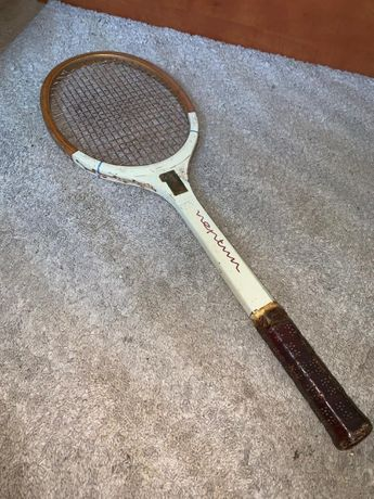 Racheta tenis lemn vintage