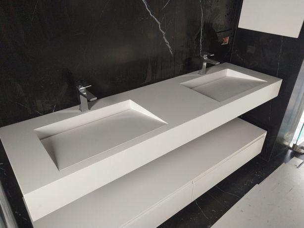 Lavoare baie din CORIAN compozit