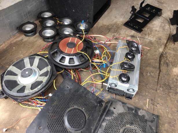 Amplificator si difuzoare Logic 7 Bmw