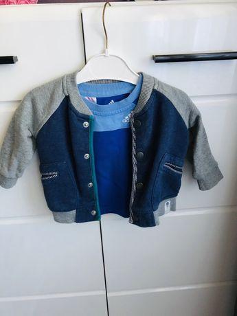 Lot jacheta Bromber de tip colegiu+tricou origibal marimea 0-3 luni