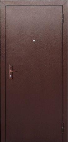 Дверь металлическая, утепленная. Новая.