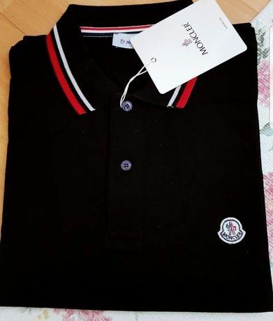 Tricouri bumnac Moncler logo brodat import Italia