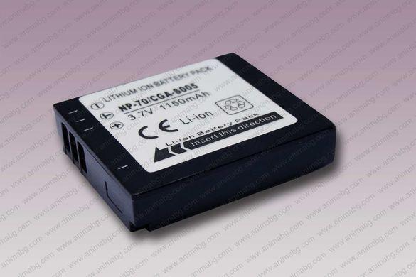 ANIMABG Батерия модел NP-70 / CGA-S005 / DB-60,65 за Panasonic Leica