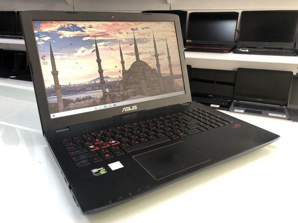 Ноутбук ASUS ROG - Core i7-6700HQ/8ГБ/1120ГБ/GTX 950M 4ГБ